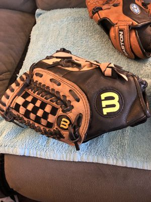 "Baseball gloves - Rawlings & Wilson - 11 1/2"" both for Sale in Lakeside, CA"