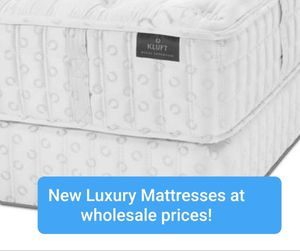 New Kluft, aireloom and tempurpedic beds for Sale in Lynnwood, WA