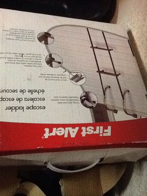 escape ladder and fire extinguisher both new for Sale in Las Vegas, NV