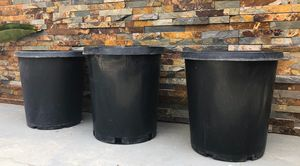 Plastic Planting Pots for Sale in Fontana, CA