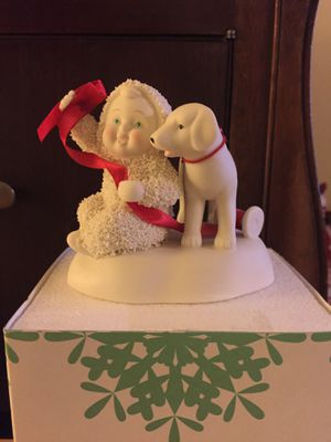 Snowbabie with dog. Still in box. $8 for Sale in Hublersburg, PA