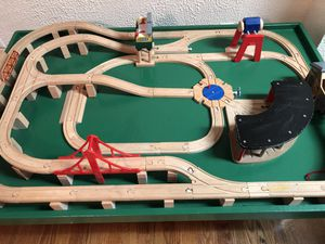 Train table with accessories for Sale in Vienna, VA