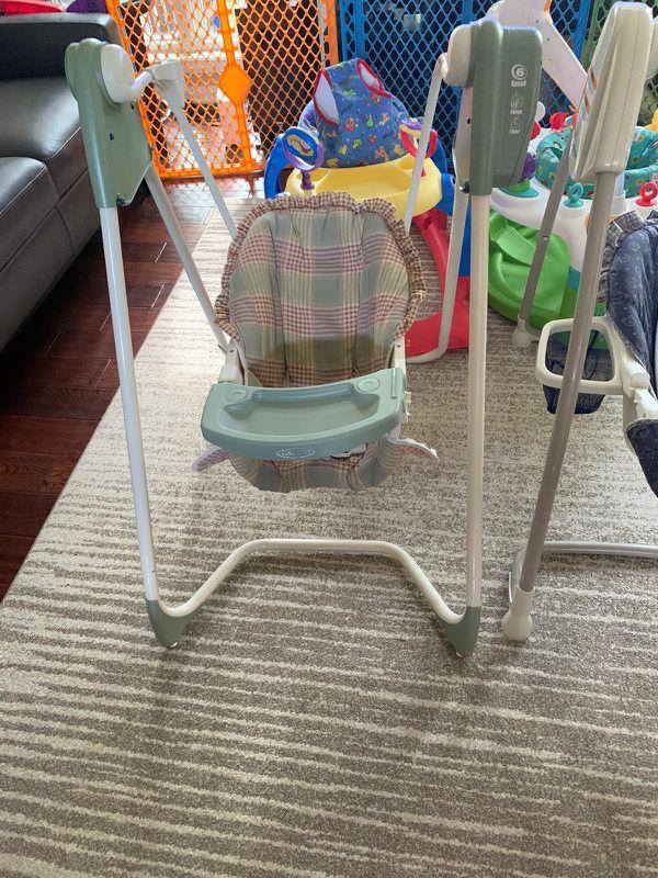 Free baby swing