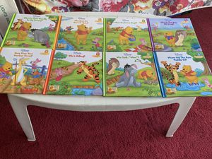 Winnie the Pooh Books of Learning All 8 for $10 for Sale in Cambridge, MA