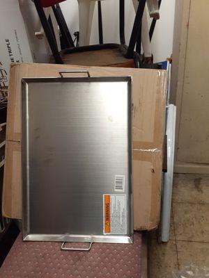 Comal plancha de acero inoxidable de 13x19 for Sale in Aurora, IL