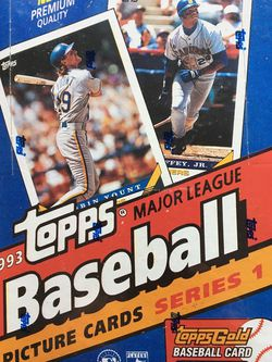 1993 Topps Baseball Cards Series 1 Unopened for Sale in Seattle,  WA