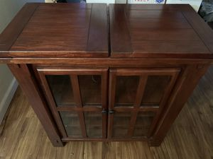 Cherry wine cabinet for Sale in Concord, CA