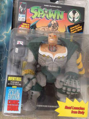 Spawn Overkill 1st series. Figure, Rare. for Sale in Arizona City, AZ