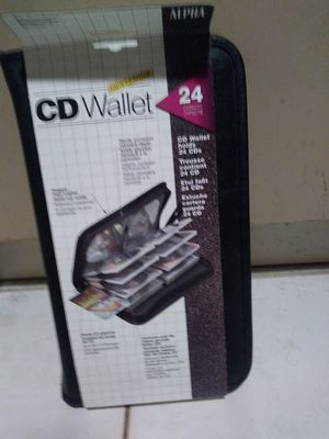 Alpha CD wallet case for Sale in Cooper City, FL