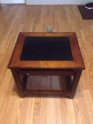 Glass & Wood Table for Sale in La Vergne, TN