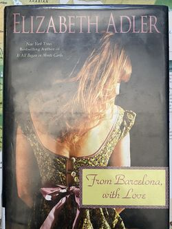 From Barcelona, With Love (Mac Reilly #4) By Elizabeth Adler Book Novel for Sale in Chula Vista,  CA