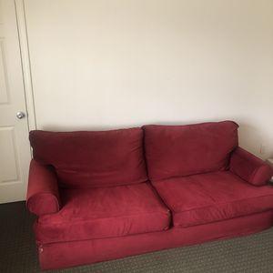 Plush Red Sofa for Sale in Nashville, TN