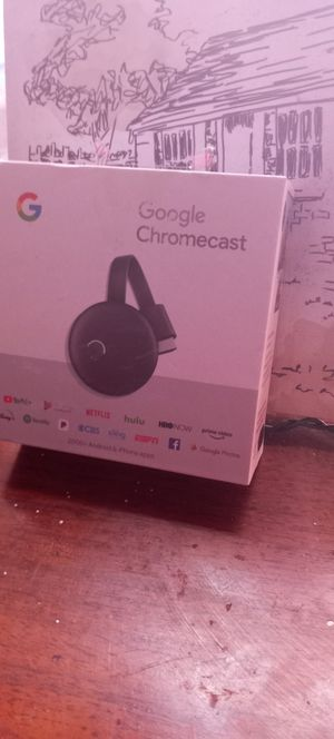 BRAND NEW GOOGLE CHROMECAST for Sale in Compton, CA