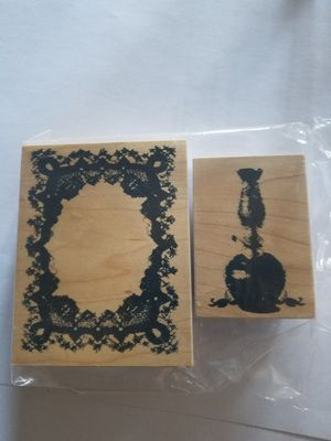 Victorian themed rubber stamp set for Sale in Chicago, IL