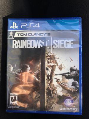 BRAND NEW Tom Clancy's RainbowSix Siege PS4 for Sale in Virginia Beach, VA