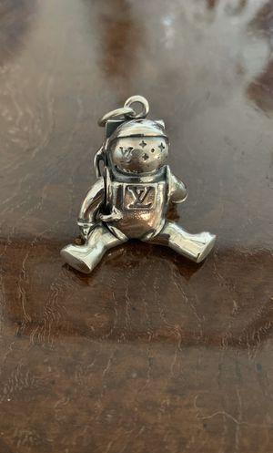 Louis Vuitton 925 silver astronaut Pendant for Sale in San Diego, CA