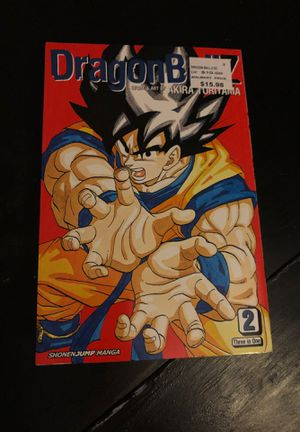 Dragonball Z comic book volume 4,5,6 story & art by Akira Toriyama for Sale in Oswego, IL
