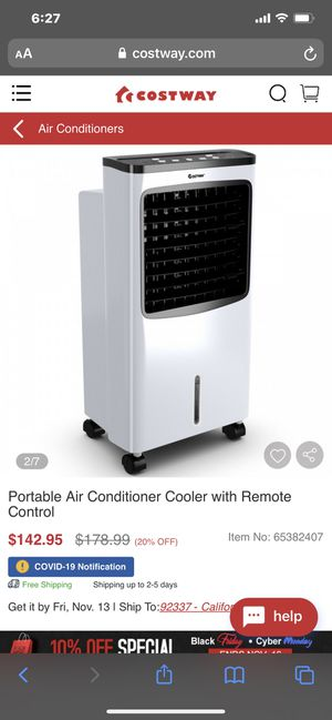 Portable air conditioner for Sale in Shafter, CA