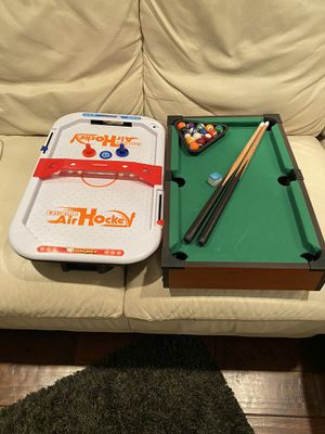 Air Hockey and Pool Table. for Sale in Anaheim, CA