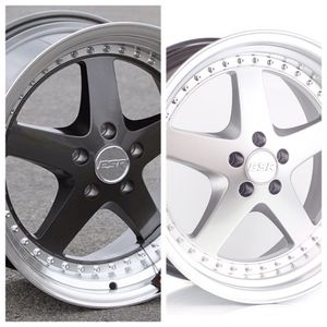 """ESR 18"""" Wheels 5x114 5x100 5x120 ( only 50 down payment/ no CREDIT CHECK) for Sale in Jackson, NJ"""