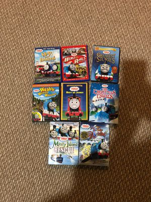 8 Thomas & Friends DVD's for Sale in Springfield, VA