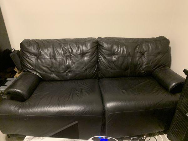 Black sofa FREEEEE
