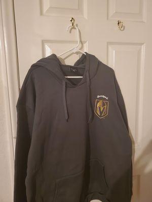 Brand New still in package Men's Vegas Golden Knights Dark Gray Hoodie Sweatshirt size 2x for Sale in Las Vegas, NV