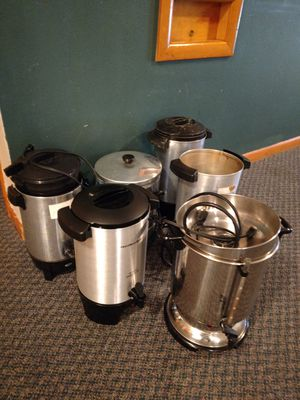 Free coffee pots (parts) for Sale in Milwaukie, OR