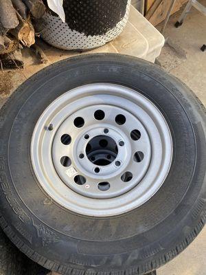 Trailer tires and wheels for Sale in Oak Glen, CA