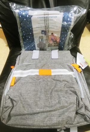 Brand New diaper bag + changing station for Sale in Brooklyn, NY
