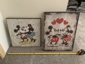 2- Collectible Disney Prints. Like New. for Sale in Spokane Valley, WA