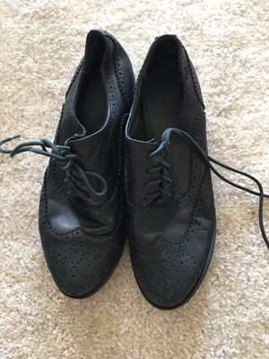 Oxford bootie in black. Soft leather size 6.5/37 for Sale in Rolling Meadows, IL