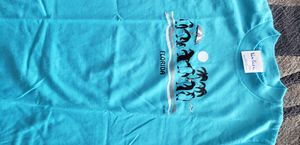 "Youth size M 10-12 ""Florida"" T- shirt w penguins and palm trees NEW. for Sale in Kailua-Kona, HI"