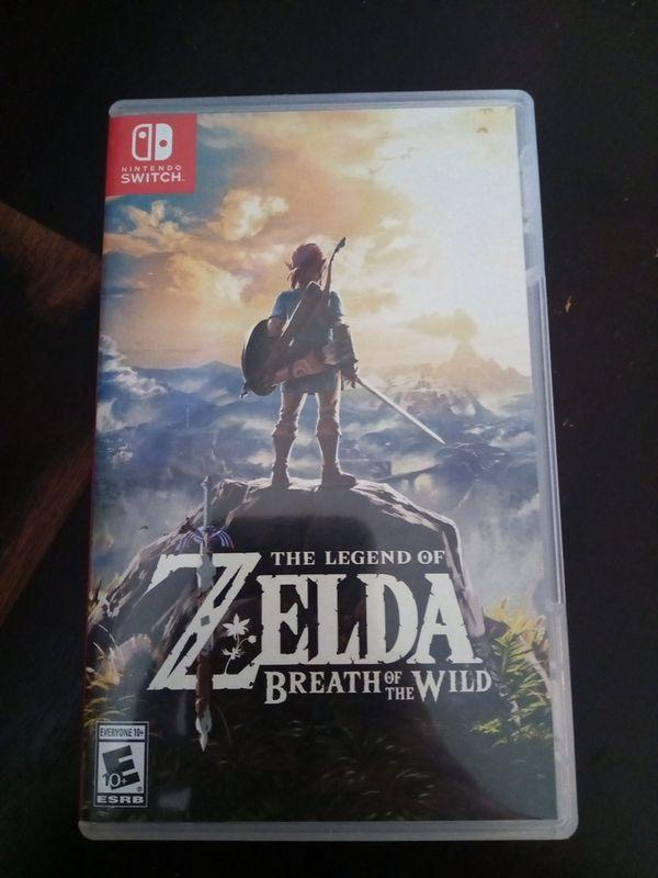 Zelda for Nintendo switch like new