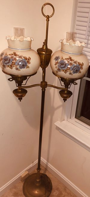 Vintage Double Arm Floor Lamp for Sale in Laurel, MD