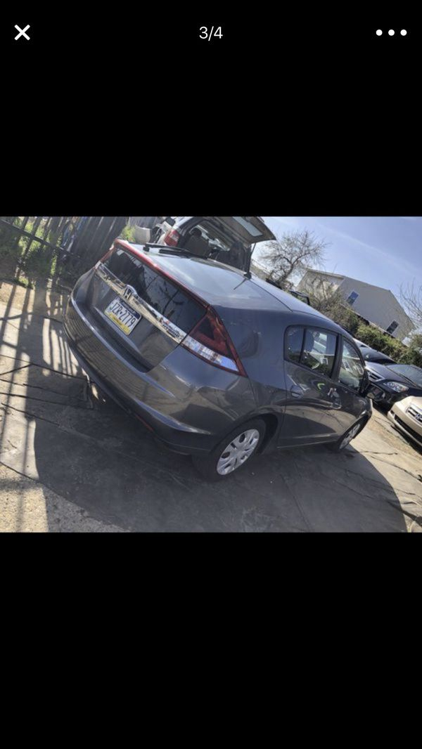 Honda Insight 2012 with only 70xxx miles
