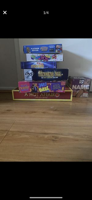 Lot of 7 board games for Sale in Los Angeles, CA