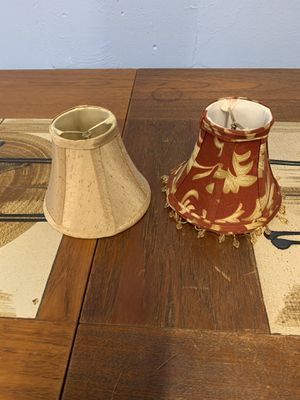 Small lamp shades for Sale in St. Petersburg, FL