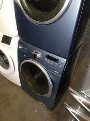 SAMSUNG WASHER DRYER NICE SET for Sale in Houston, TX