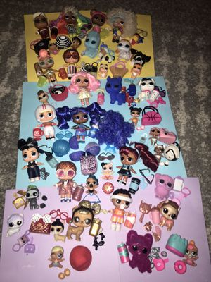 Lol Dolls huge lot of 36 for Sale in Portland, OR