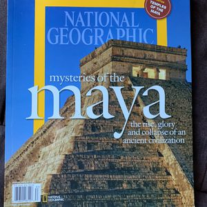 National Geographic Mysteries Of The Maya for Sale in Norco, CA