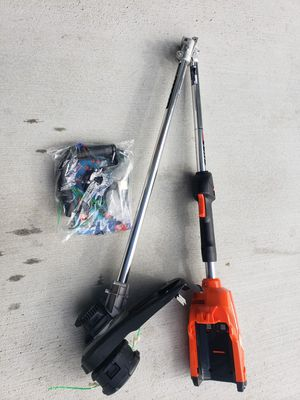 D91) ECHO 58V STRING TRIMMER ( TOOL ONLY SOLO HERRAMIENTA) for Sale in Riverside, CA