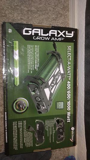 Galaxy grow amp 400/600/1000 watt settings for Sale in Arvada, CO