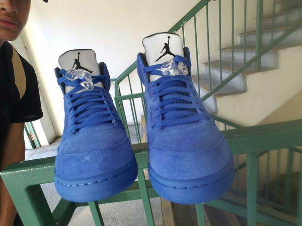 Jordan's Brand new/DS, Retros Blue Suede
