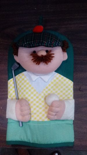 Golfer pot holder for Sale in Brentwood, TN