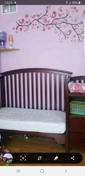 3 in 1 Baby Crib for Sale in Round Lake Heights, IL