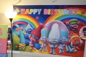 Trolls birthday sign for Sale in Everett, WA