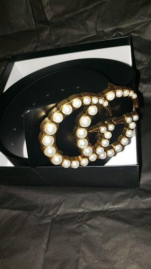 Small waist GG big buckle belt for Sale in McDonough, GA