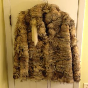 Fox Jacket with Mink Trim for Sale in Riverdale, IA