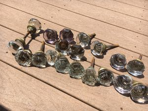 Antique glass door knobs for Sale in Havertown, PA